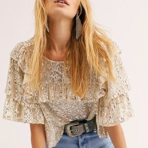 Free People Dance floor top